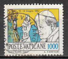 Vatican City   Scott No   745     Used    Year  1984 - Used Stamps