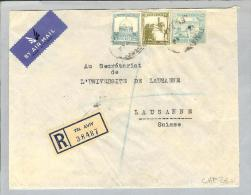 Palästina Tel Aviv 1946 R-Brief Nach Lausanne CH - Palestine