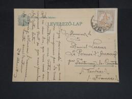 HONGRIE - Carte De Budapest Pour La France En 1926 - Aff Plaisant - à Voir Lot P7429