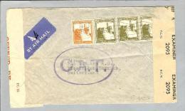Palestina Tel Aviv 1944 O.A.T. Airmail > Zürich CH - Palestine