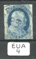 EUA Scott   8A Type IIIa Red  And Black Cancels YT 3b # - Used Stamps