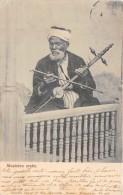 CPA LIBAN MUSICIEN ARABE (dos non divis�)