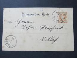 Korrespondenzkarte FPA No.28 - Villach 1886  ///  D*16791 - 1850-1918 Imperium