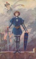 Jeanne D´Arc. Louise Abbema. Eglise ND De Lorette - Historische Persönlichkeiten