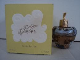 LOLITA LEMPICKA   FLACON 50 ML  EDP PRESQUE PLEIN MAIS  JUS ( INTACT )   DECOLORE  LIRE ET VOIR !! - Miniatures Femmes (avec Boite)
