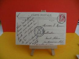 Nimy 13.7.1908 Belgique , Avesnes Sur Helpe 13.7.1908 (Fr ) Grosse Barbe 1910 Henri Meunie Y5/611, Beffroi De Mons - 1905 Grosse Barbe