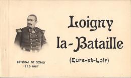 CARNET DE 12 CPSM DE LOIGNY LA BATAILLE GENERAL DE SONIS - Loigny