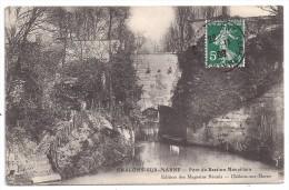 CPA Châlons Sur Marne 51 Marne Pont Du Bastion Mauvillain édit Magasins Réunis écrite 1909