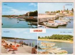 Umag - Lovrecica - Pelegrin - SV. Ivan - Finida , Mehrbildkarte - Kroatien