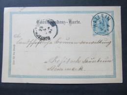 Korrespondenzkarte HALLEIN - Rohitsch Sauerbrunn 1901 ///  D*16804 - 1850-1918 Imperium