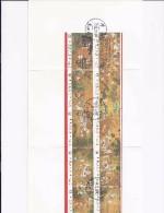 TAIWAN 1436/1445 On Card First Day - 1945-... République De Chine