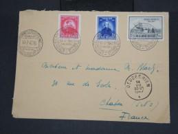 BELGIQUE - Enveloppe De Bruxelles Pour La France En 1947 - Obl Spécial Aeronautique - Aff. Plaisant - à Voir - Lot P7438 - Belgium