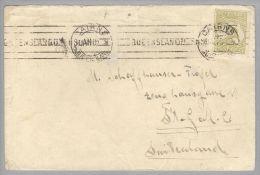 OZ Australien 19??-04-22 Cairns Brief Nach St.Gallen Mit 3d Grün Känguruh - 1913-48 Kangaroos