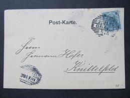 Korrespondenzkarte GRAZ - Knittelfeld 1901 Anton Körösi !!  ///  D*16817 - 1850-1918 Imperium