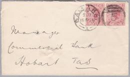OZ Australien 1904-04-16 Ballarat Victoria Brief Nach Hobart - 1850-1912 Victoria