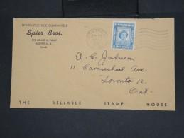CANADA - Enveloppe De Montréal Pour Toronto Aff Timbre De Terre Neuve En 1951 -  à Voir - Lot P7442 - Cartas