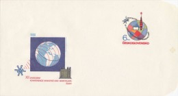 Czechoslovakia / Postal stationery (1980) XII. Conference of Ministers of post-socialist countries (OSS) 1980 (I7645)