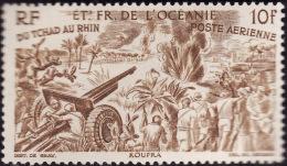 OCEANIE   1946  -   PA   21 - 10f Brun  -  NEUF** - Cote 2e - Poste Aérienne