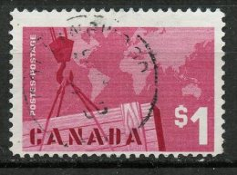 Canada 1963 $1 Exports Issue #411  SON - 1952-.... Règne D'Elizabeth II