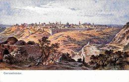[DC4690] CARTOLINA - ISRAELE - GERUSALEMME - Viaggiata 1909 - Old Postcard - Israele