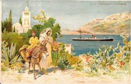 [DC4692] CARTOLINA - TRANSATLANTIQUE - TRANSATLATANTICO - NAVI - Viaggiata 1918 - Old Postcard - Cartoline