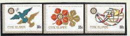 OZ Cook Island Mi# 663-5 ** Ungezähnt Aus Kl.Bg. Rotary - Cook