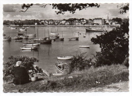 BENODET--1965--Vue Générale Prise De Sainte Marine (animée),cpsm 15 X 10 N° 971 éd Jos--cachet Avec Phare - Bénodet