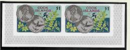 OZ Cook Islands 1977 Mi# 546** Paar Ungezähnt Aus Kl.Bogen - Cook