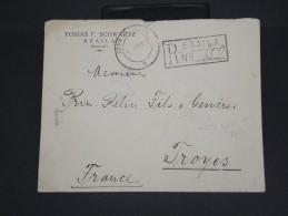 ROUMANIE  - Enveloppe En Recommandée De Braila Pour La France En 1929  - à Voir - Lot P7448 - 1918-1948 Ferdinand, Charles II & Michael