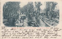 Ciudad de Mexico: Canal de la Viga. Fiesta de las Flores , 1890s