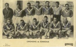 CPA (sport Football) Girondins De Bordeaux  (dedicaces Originales Des Joueurs) - Calcio