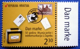 CROATIA MNH STAMP 2003 STAMP'S DAY 50 YEAR OF PTT MUSEUM - Croazia
