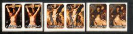 OZ Cook Islands 1977 Mi#530-532** Ungezähnt Aus Kl.Bogen - Cook