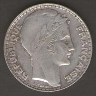 FRANCIA 20 FRANCS 1933 AG SILVER - Francia