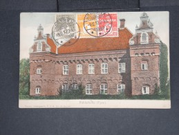 DANEMARK - C.P (légèrement Décollée) Obl.de Hornbaek Pour La France En 1913 - Aff Tricolore - à Voir - Lot P7450 - Covers & Documents