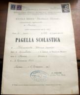 ITALIA 1947 - COMITATO PRO VITTIME POLITICHE LIRE 2 T. LAURO DE BOSIS - Diplomas Y Calificaciones Escolares