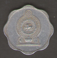 SRI LANKA 10 CENTS 1978 - Sri Lanka