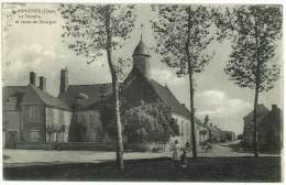 Asnières ( Cher ) - Le Temple Et Route De Bourges - Autres Communes