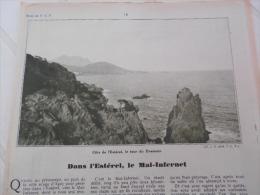 - Article De Presse - Régionalisme - L'Estérel - Le Mal Infernet - Le St Pilon - Tour Du Dramont -1936 - 2  Pages - - Historische Dokumente