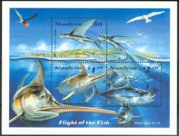 2001 Niuafo'ou (Tonga) Vita Marina Marine Life Pesci Fish Fische Poissons Set MNH** Ul6 - Tonga (1970-...)