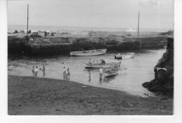 Foto  Cm  10,5 X 7,4  Porto De La Cruz - Porto Dei Pescatori - Lieux