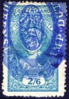 OZ Australien Queensland 1882 Mi#59 Zierstempel - 1860-1909 Queensland
