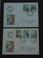 UNGARN HUNGARY 11.12.1987 Michel Nr. 3937A-3941A: Märchen Und Fabeln - Märchen, Sagen & Legenden