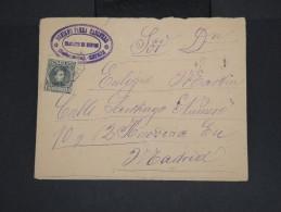 ESPAGNE - Enveloppe De Salamanque Pour Madrid En 1901 - à Voir - Lot P7463 - Cartas