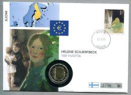 3503 - FINNLAND - Numisbrief Von 2013 Mit 2 Euro Münze - Finlandia