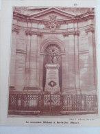 - Article De Presse - Régionalisme - Le Monument Michaux à Bar Le Duc  - Meuse - Repro Photo  -1935 - 1/3 De  Pages - - Historical Documents