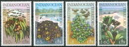 1975 British Oceano Indiano Piante Plants Plantes Set MNH** Ul7 - Vegetales