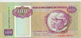 Angola 100 Kwanzas 1991  Pick 126 UNC - Angola