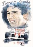 * * Magic SENNA * *  Bonne Année 2000 ( Carte Non écrite ) - Grand Prix / F1
