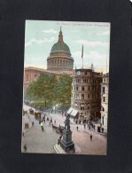 """54861     Regno  Unito,   London,  St. Paul""""s  Cathedral From  Cheapside,  NV - St. Paul's Cathedral"""